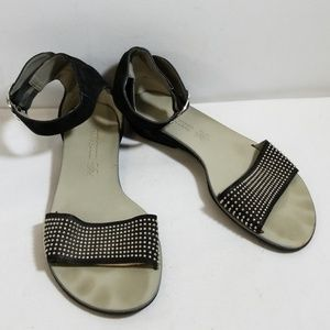 Paul Green Black Ankle Strap Sandals Size 5